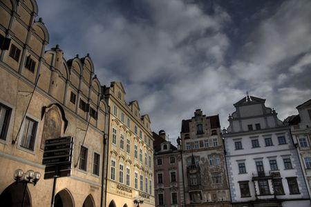 god box: A square in Prague, The Czech Republic
