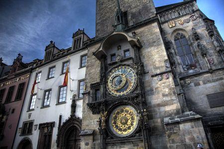astronomic: The Astronomical Clock in Prague, The Czech Republic