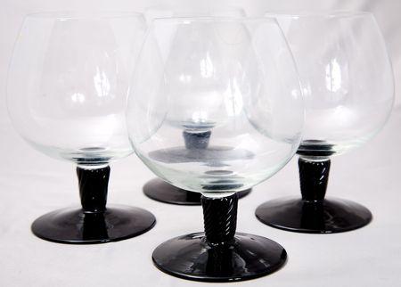 a set of liquor glasses