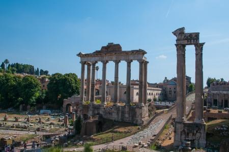 obelisc: Forum Romanum, Italy