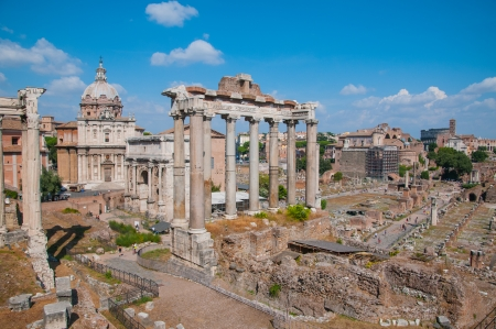 Forum Romanum, Italy photo