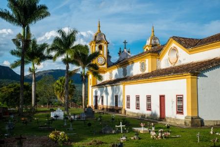 Church in Tiradentes, Minas Gerais, Brazil