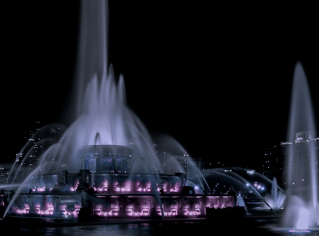 Buckingham fountain photo