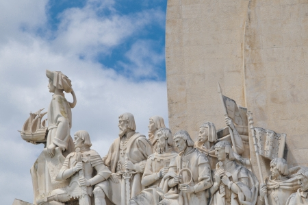 Monument to the Discoveries is a monument on the northern bank of the Tagus River estuary, in the civil parish of Belem, Lisbon