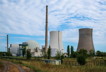 Nuclear Power Plant in Germany Stock Photo - 24305785