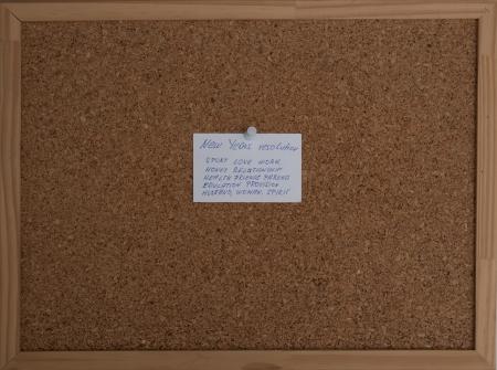 corkboard: Corkboard isolated on white background