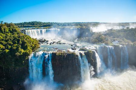 Iguazu Falls or Devils Throat Stockfoto