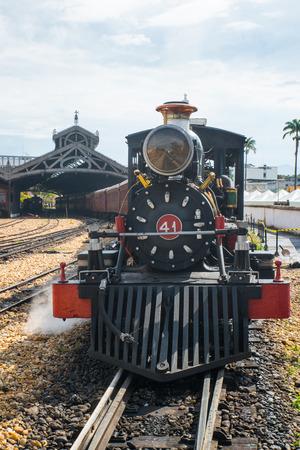 Steam-Train in Minas Gerais Brazil