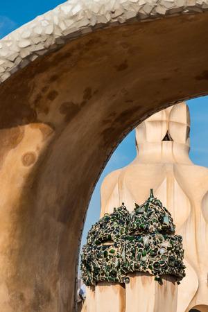 anton: La Pedrera by Anton Gaudi, Spain