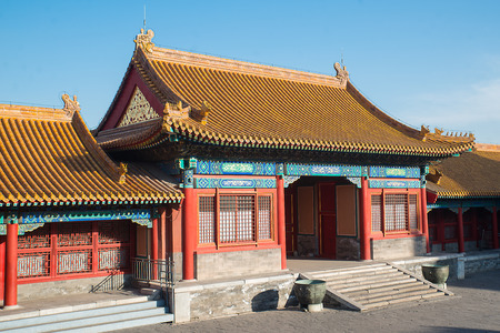 palatial: The Forbidden City was the Chinese imperial palace from the Ming Dynasty to the end of the Qing Dynasty