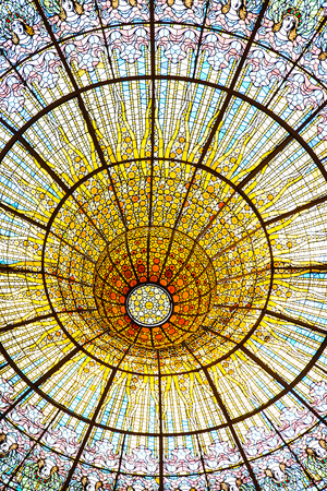 Palau Musica Catalana at Barcelona is one of the most famous concert halls of the world