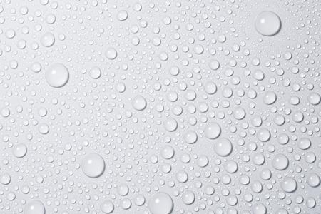 druppels water Stockfoto