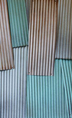Tin fence background