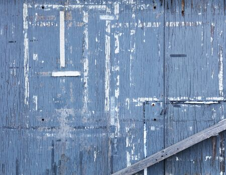 blue painted wall 免版税图像