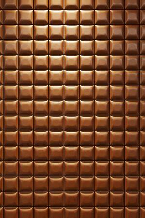 Chocolate-like tile wall