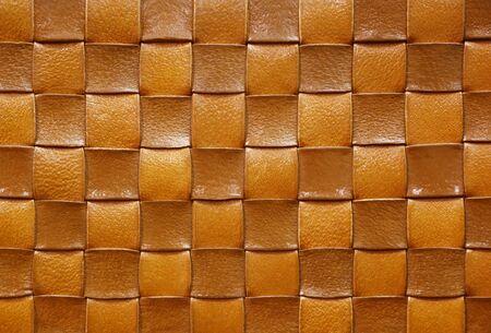 Leather knitting background 免版税图像