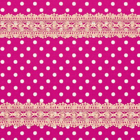 Pink cloth background