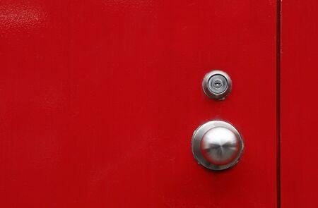 red door background Foto de archivo - 129195315