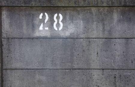 grey Concrete fence