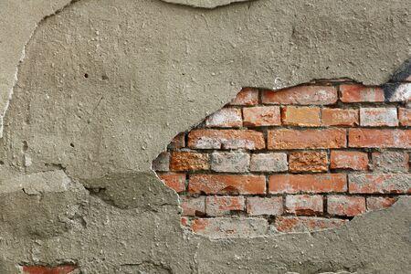 Broken wall background Stock fotó