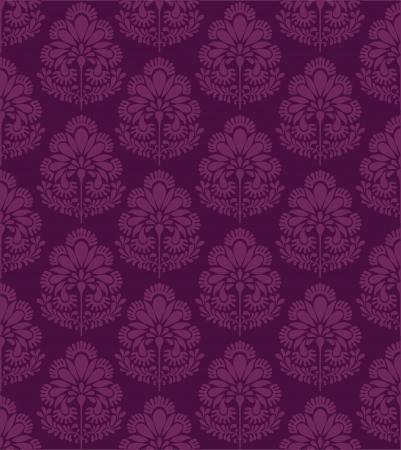 motif indiens: Traditional Indian motif floral d'inspiration Illustration