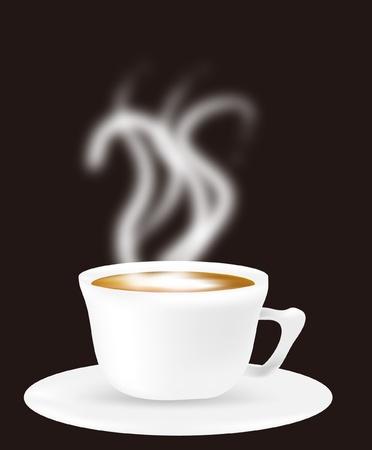 musetti: cappuccino Illustration