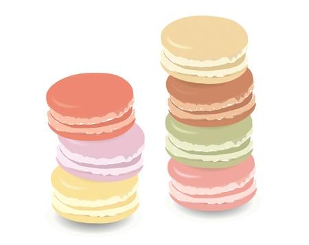 macaroon: colorful macaroons
