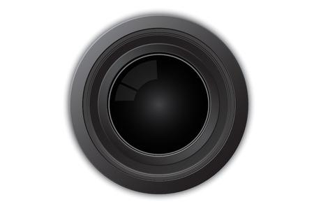 Illustration of camera lens Stock Vector - 4068085