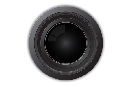 Illustration of camera lens Stock Vector - 4068085