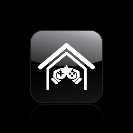 joypad: Ilustraci�n vectorial de video juego Vectores