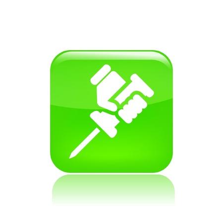 reparations: Ilustraci�n vectorial de icono �nico aislado reparaci�n