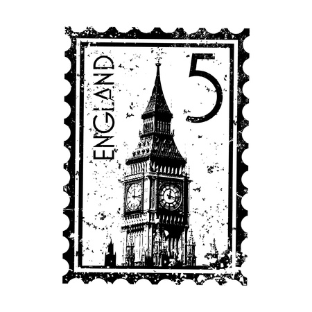 Vector illustration of single isolated London print icon  Stock Vector - 12130278