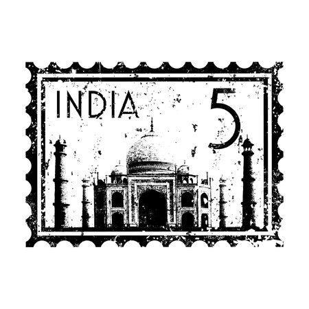 Vector illustration of single isolated India icon  Vector