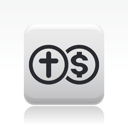 repayment: Vector illustration of single isolated insurance icon