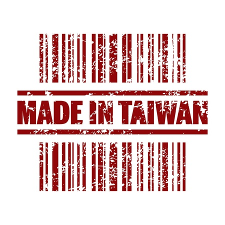 Vector illustration of single isolated Taiwan icon Vector