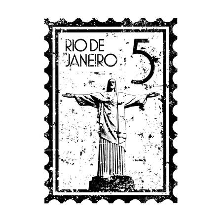 Vector illustration de la seule icône isolé Brésil Banque d'images - 12130306