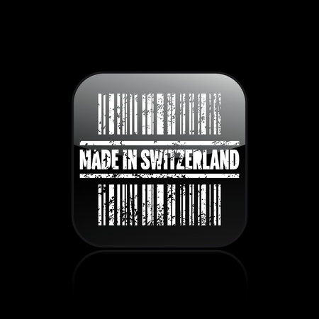 Vector illustration of single isolated Swiss icon Stock Vector - 12129596