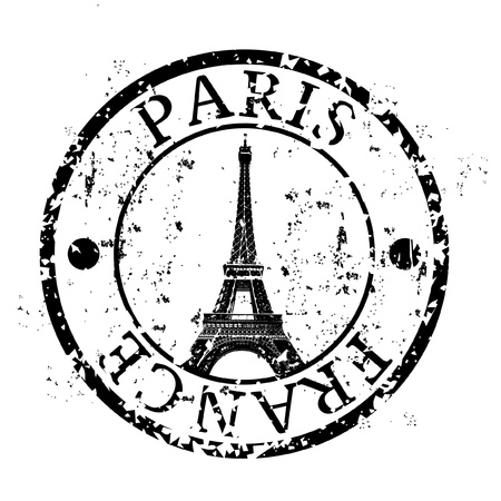 Vector illustration of single isolated Paris icon Stock Vector - 12129662
