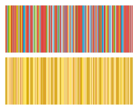 Vector illustration of vintage colored strips background