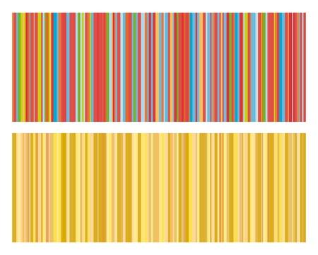 Vektor illustration av vintage färgade band bakgrund