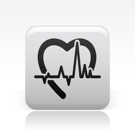 healt: Vector illustration of single isolated healt icon