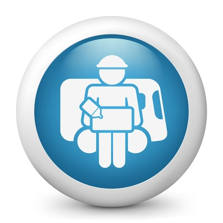 bellboy: Illustration of bellboy concept icon