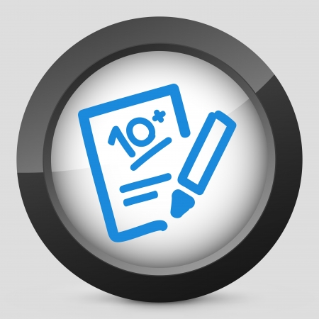 Successful test performance result icon Stock Vector - 19616320