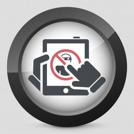 accessing: Ilustraci�n de protecci�n de datos de acceso a la Web