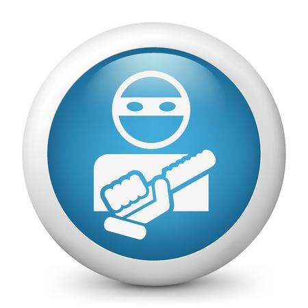 Armed bandit concept icon Illustration