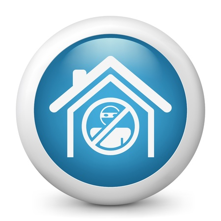 delinquent: House protection concept icon