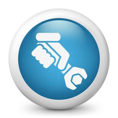 Worker concept symbol icon Stock Vector - 19876557