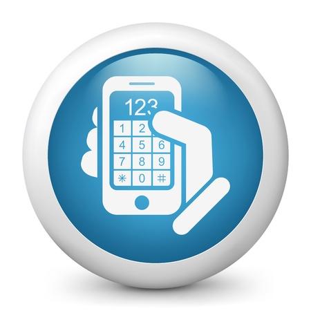 Call phone icon concept Stock Vector - 19875447