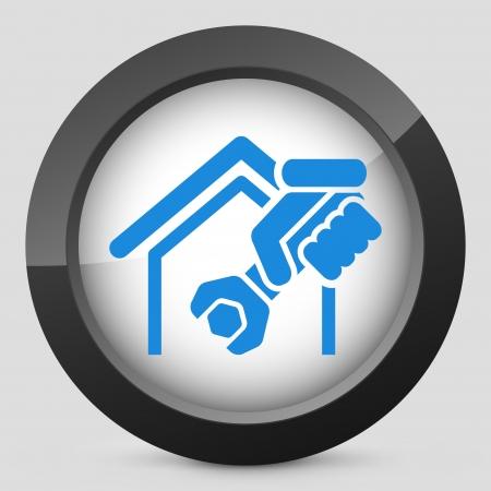 ホームのプロフェッショナル サービス アイコン