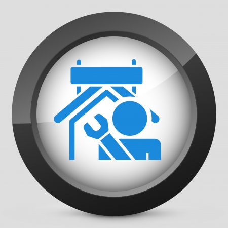 Industry concept icon illustration Stock Vector - 19875539
